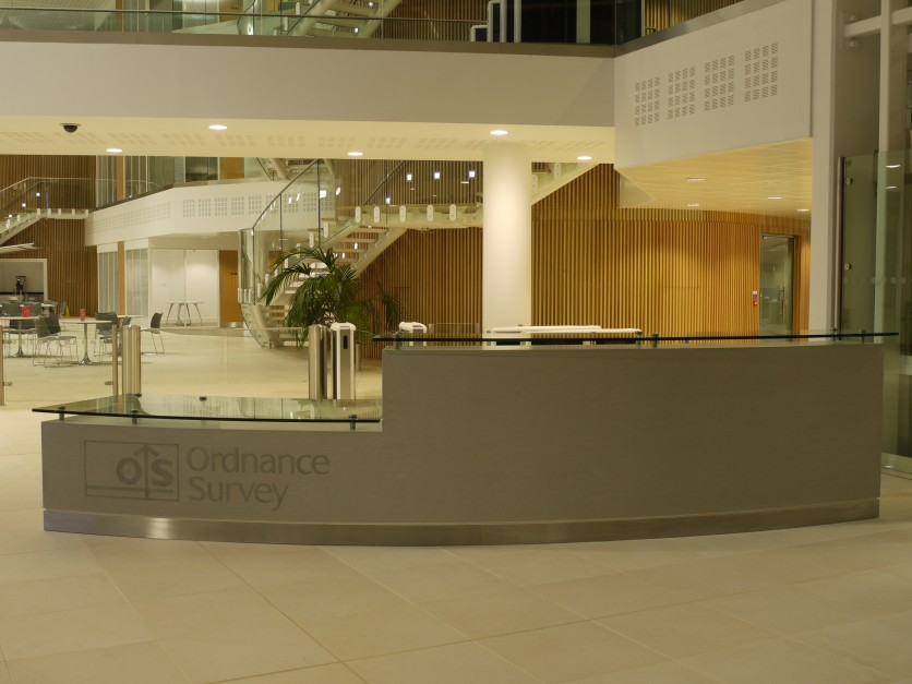 Ordnance Survey Reception Desk